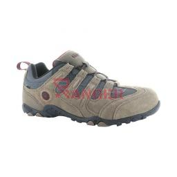 DEPORTIVO HITEC QUADRA WATERPROOF MARRON-GRIS
