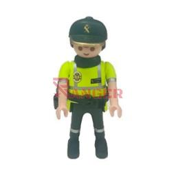 [134676] MUÑECO CUSTOM GUARDIA CIVIL TRAFICO AMARILLO-VERDE
