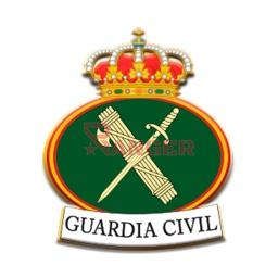 [09974/365267] PIN BARBARIC GUARDIA CIVIL GENERICO BANDERA MULTICOLOR