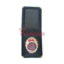 [300190-PC] CARTERA PIEL PLACA PROTECCION CIVIL